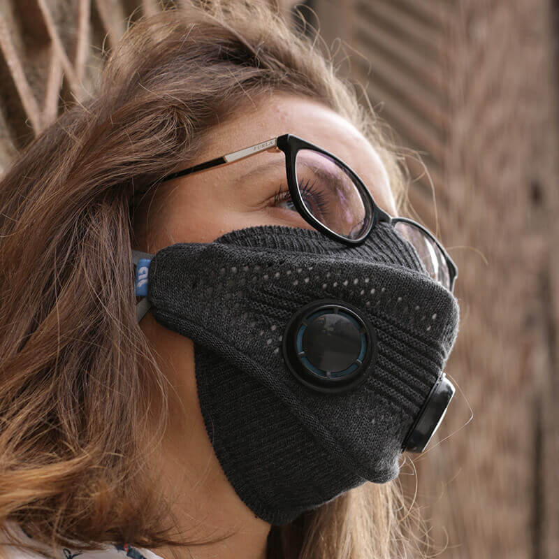 mask, airlief mask, FFP, N95, airlief mask gray